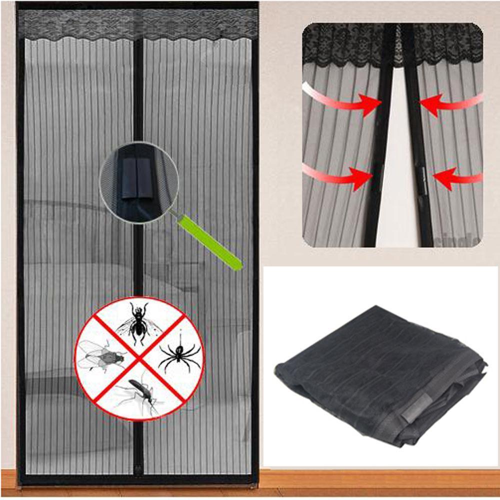 Сетка магнитная для дверей от насекомых своими руками